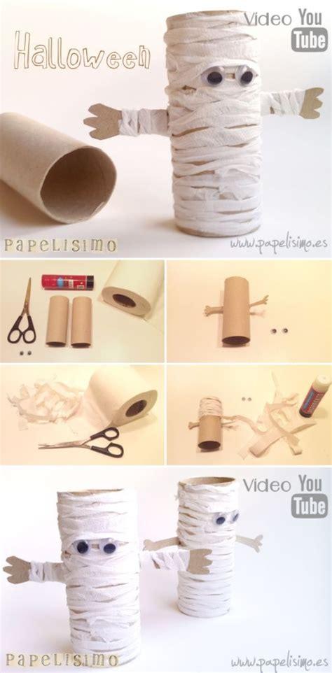 mummy toilet paper roll craft diy paper roll mummies