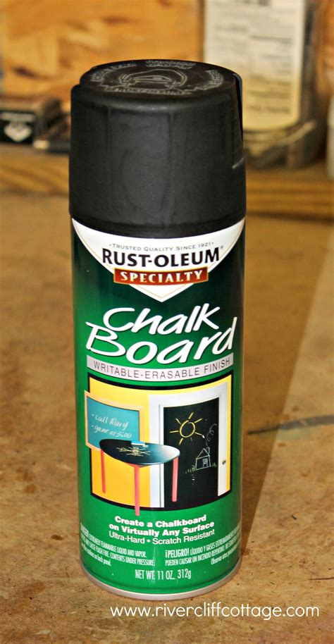 chalk paint in a sprayer i chalk paint