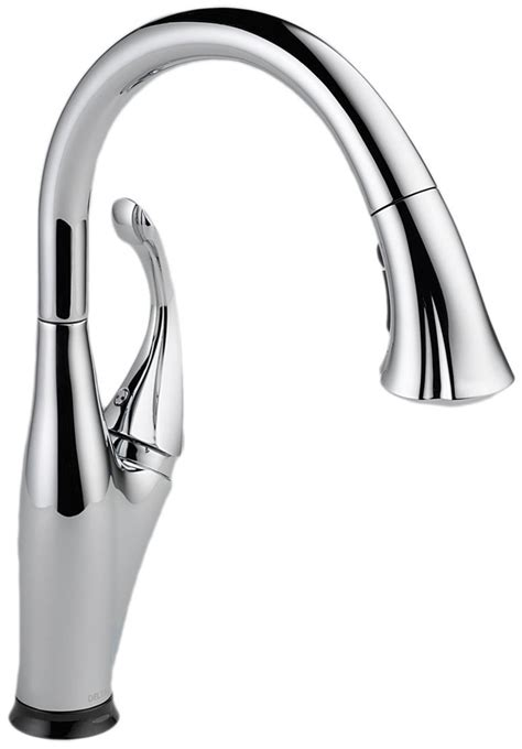 kitchen faucet plumbing delta 9192t sssd dst review single handle touchless kitchen faucet
