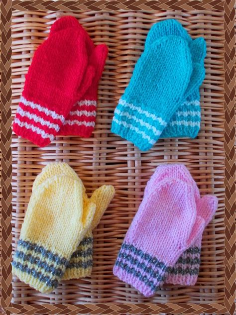 easy knit baby mittens baby mittens knitting patterns a knitting