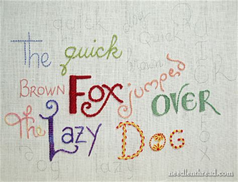 embroidery words embroidery lettering and text 11 word