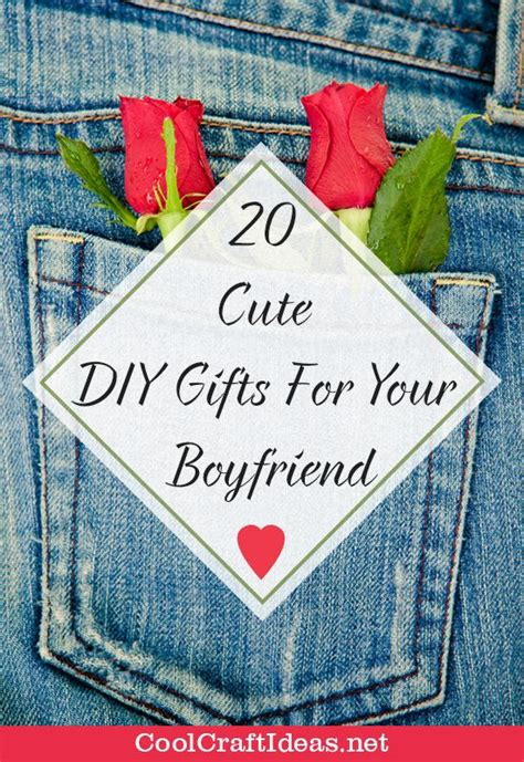 to make for your boyfriend 20 diy gifts for your boyfriend cool craft ideas