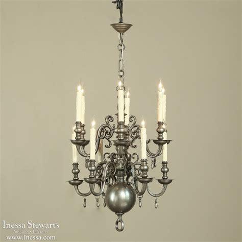 pewter chandelier pewter chandelier inessa stewart s antiques
