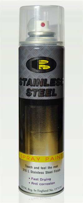 spray paint stainless steel bosny stainless steel spray paint 200ml bosny stainless
