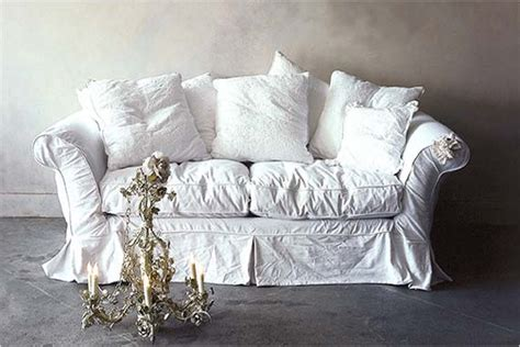 shabby chic sofa slipcovers shabby chic slipcovers for your sofa interior fans