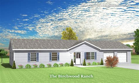 ranch home plans with pictures birchwood modular ranch house plans