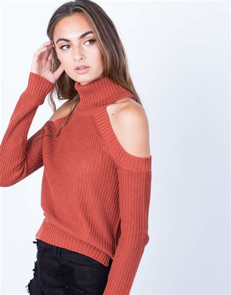 knit top sweater chunky knit sweater top turtleneck sweater top cold