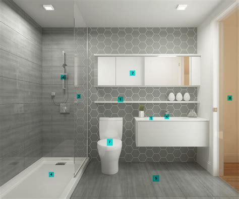 nettoyer salle de bain maison moderne