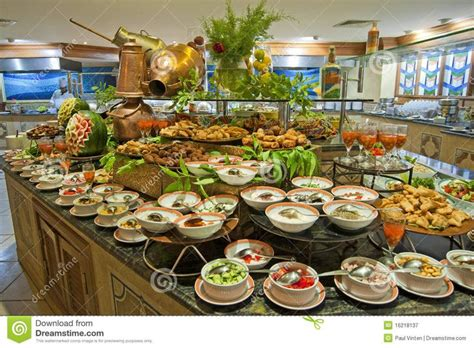 restaurants that buffets salad display royalty free stock photography salad