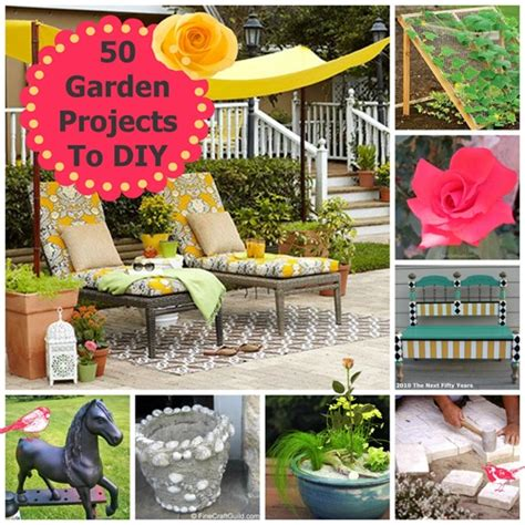 garden craft projects 50 garden projects to diy linky