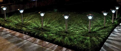 solar garden lights homebrite power by solar