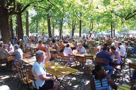 Englischer Garten München Hirschgarten l 246 wenbr 228 ukeller biergartenf 252 hrer m 252 nchen
