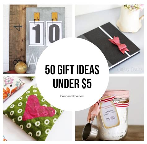 50 gift ideas to make for 5 i nap time