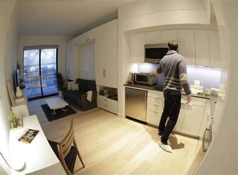 mini apartment high tech millennial lifestyle inspires micro apartment