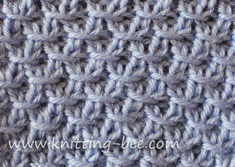 how do i up and knit stitches quot this diagonal crossed stitch knitting pattern looks