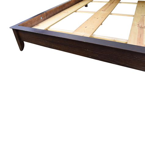 curved bed frame 84 wooden sleigh curved headboard bed frame beds