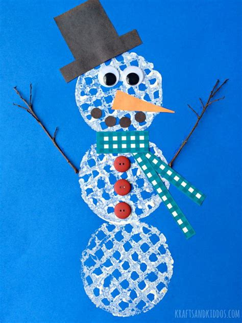 snow crafts for and creative winter themed crafts for