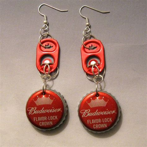 17 best ideas about bottle cap earrings on