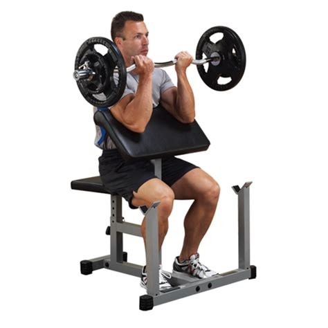 Nautilus Weight Bench by Body Solid Preacher Curl Machine Gymstore Com