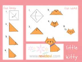 how to make origamies how to make origami cat revidevi