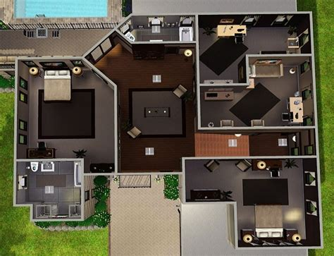 sims floor plans the sims house plans 5000 house plans