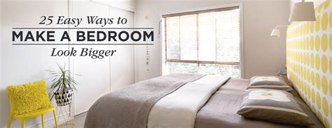 the make room 25 ways to make a small bedroom look bigger shutterfly