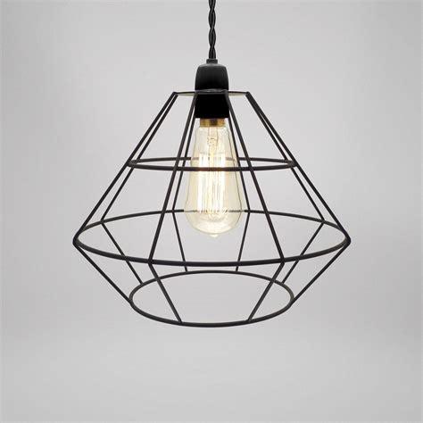modern cage chandelier modern industrial black white copper metal cage wire