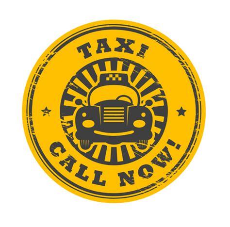 rubber st psd set of taxi labels vector 01 millions vectors