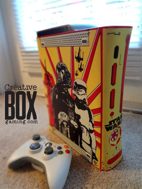 spray paint xbox 360 console wars custom xbox 360 console by creativeboxgaming on
