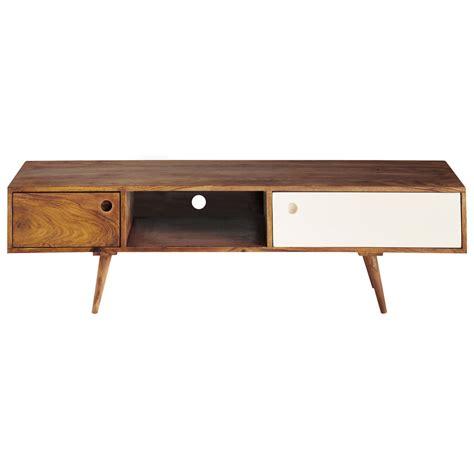 Exotic Home Interiors sheesham wood vintage tv unit w 140cm andersen maisons