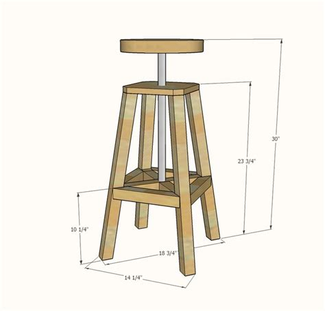 bar stool woodworking plans wooden bar stool plans free woodworking projects plans