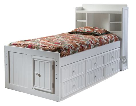 trundle bed with bookcase headboard hoot judkins furniture san francisco san jose bay area