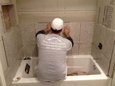 bathroom shower tile installation tile installation bath tub installation in maitland fl