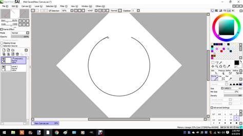 paint tool sai tutorial circle i is magik a circle in paint tool sai