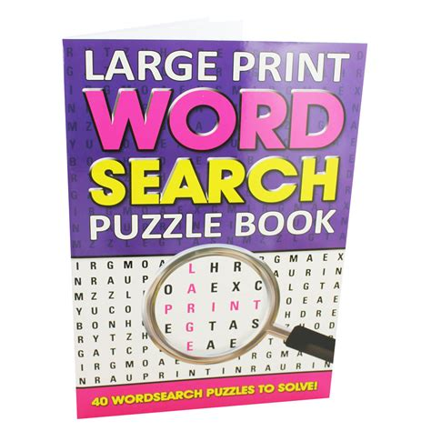 picture word book large print word search puzzle book by alligator books ltd