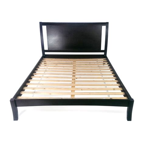 to king bed frame 44 king size taupe cloth bed frame beds