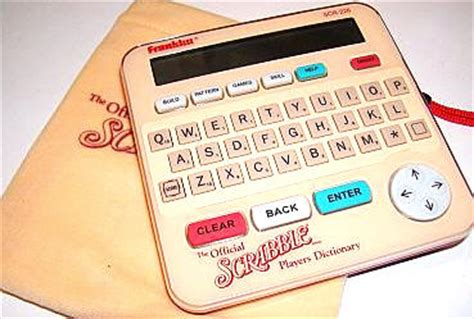 er dictionary scrabble franklin official scrabble player s dictionary review