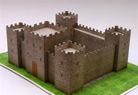 paper craft castle castle papercraft
