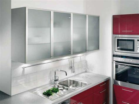 kitchen wall cabinets glass doors 20 beautiful kitchen cabinet designs with glass