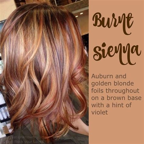 add color burnt hair color add some grey highlights to help