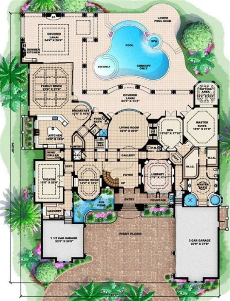 mediterranean mansion floor plans mediterranean mansion floor plans mediterranean house