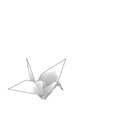 origami drawing origami crane drawing www imgkid the image kid has it