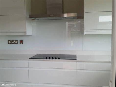 Diy Kitchen Backsplash Tile Ideas white glass splashbacks