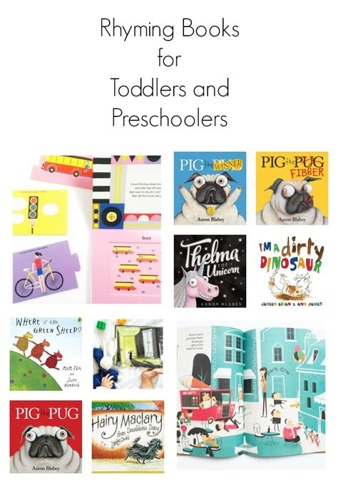 rhyming picture books rhyming books for toddlers and preschoolers oh creative day