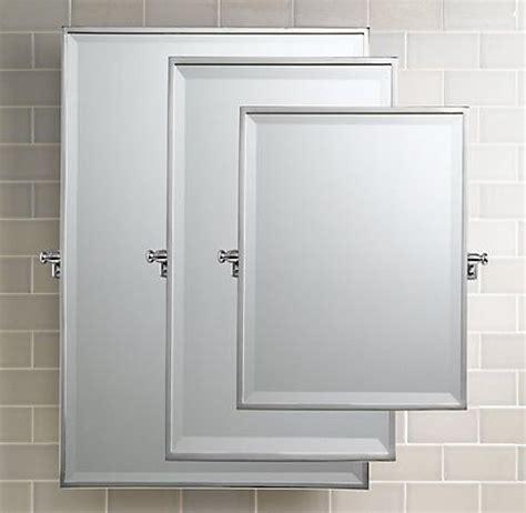 pivot bathroom mirrors bistro rectangular pivot mirror traditional bathroom