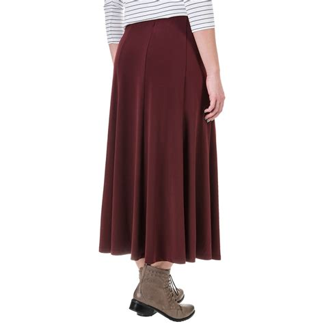 womens knit skirts knit gored midi skirt for save 75