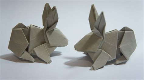 how to make an origami rabbit origami rabbit hsi min