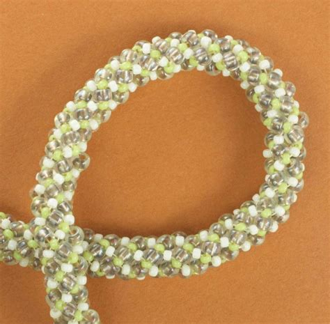 spiral beading russian spiral stitch tutorial jewelry to make