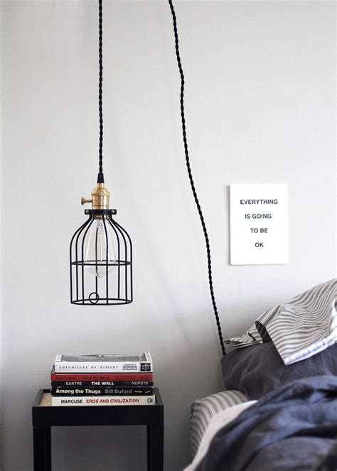 company to hang lights diy hanging pendant light from color cord company
