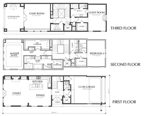 townhome floor plan dallas townhouse floor plans for sale apartments